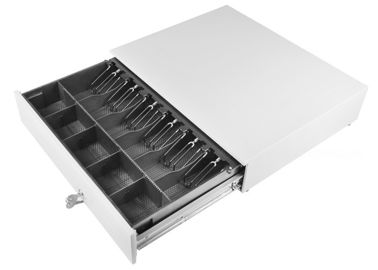Cina Ivory Large Cash Drawer / Heavy Duty Metal Drawers Removable Tray 10.5 KG 490 pabrik
